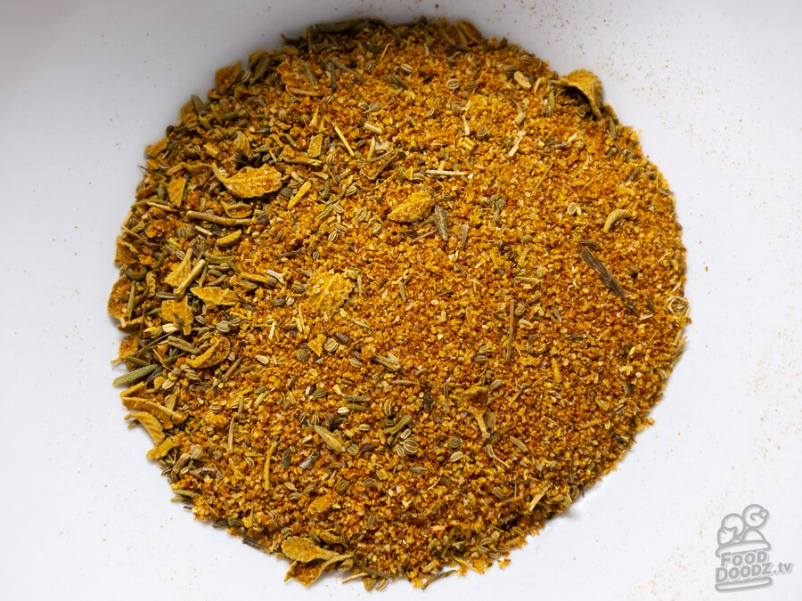 A spicy herby blend of spice that goes perfectly in any cajun and creole recipes.